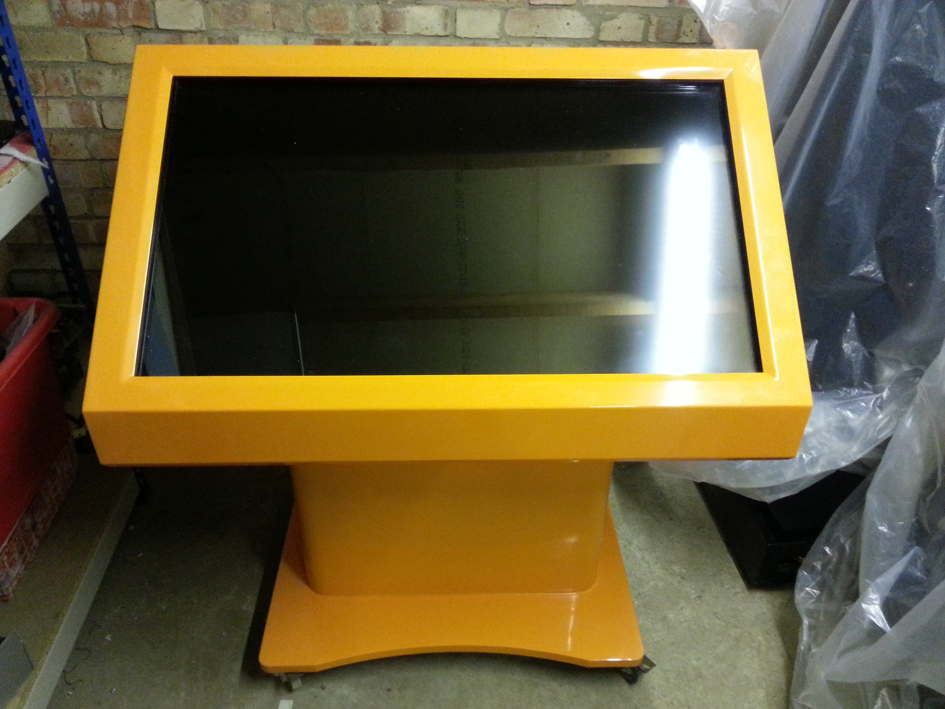 touchscreen kiosk hire peterborough