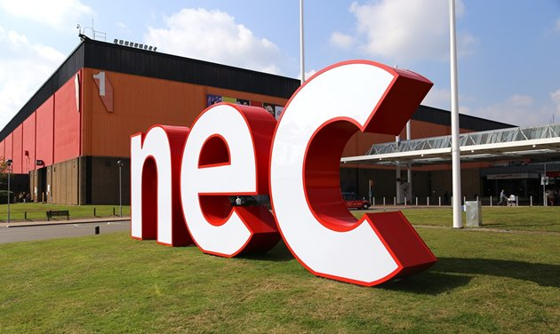 nec-birmingham touch screen hire tv monitor