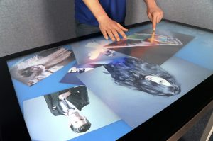 "42"" Touchscreen Table Hire"