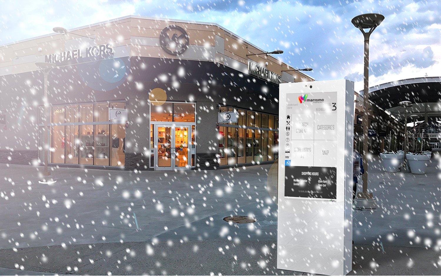 outdoor-touchscreen-in rain