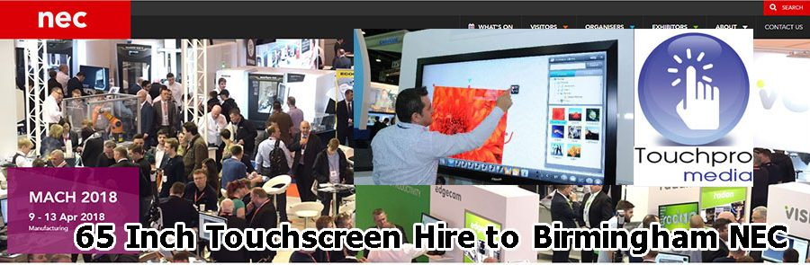 big-touch-screen-interactive-hire-birmingham-nec