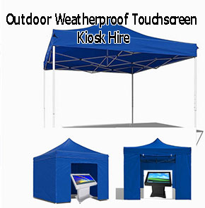 Outdoor Touchscreen Hire
