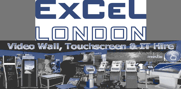 london-excel-interactive-touch-screen-video-wall-hire
