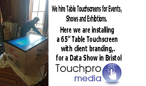 sixty-five-inch-flat-interactive-multi-touch-screen-table-hire-exhibition