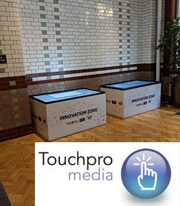 Touchscreen Table Hire Event UK