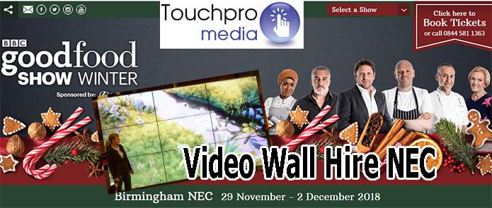 Big Screen Video Wall Hire Birmingham NEC – We hire
